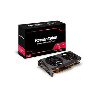 8GB Powercolor RX 5700 DDR6 Dual-Lüfter (Retail)