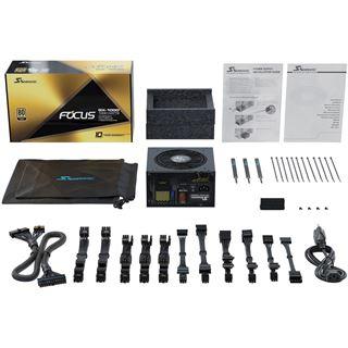 550 Watt Seasonic Focus GX 80 Plus Gold Netzteil, modular
