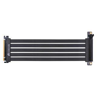 Corsair PCIe x16 Riser Flachband-Kabel, 30cm, schwarz