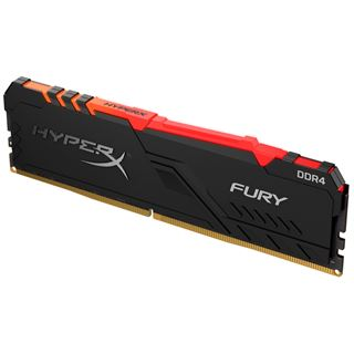 8GB Kingston DDR4 PC 3466 CL16 HyperX Fury RGB