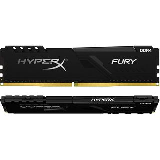 16GB HyperX FURY schwarz DDR4-3000 DIMM CL15 Dual Kit