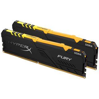 16GB HyperX FURY RGB DDR4-2400 DIMM CL15 Dual Kit
