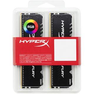 32GB HyperX Fury RGB DDR4-3200 DIMM CL16 (2x16GB) Dual Kit