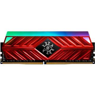 8GB ADATA DDR4 PC 3000 CL16 XPG Spectrix D41 RGB RED