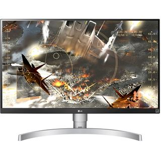 """27"""" (68,58cm) LG Electronics 27UL650-W schwarz/weiß"""
