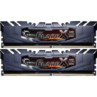 32GB G.Skill Flare X schwarz DDR4-3200 DIMM CL16 Dual Kit