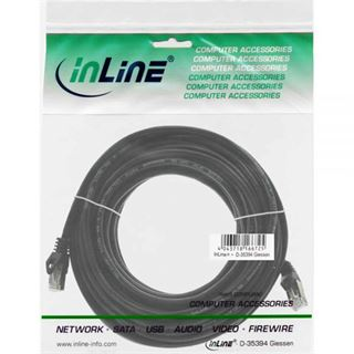 (€0,45*/1m) 20.00m InLine Cat. 5e Patchkabel SF/UTP RJ45 Stecker