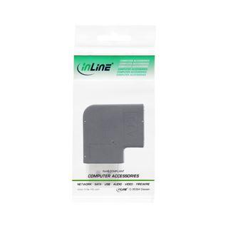 InLine DisplayPort Adapter, DisplayPort Stecker / Buchse links