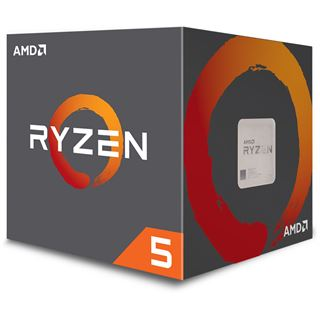 AMD Ryzen 5 1600 (12nm) 6x 3.20GHz So.AM4 BOX