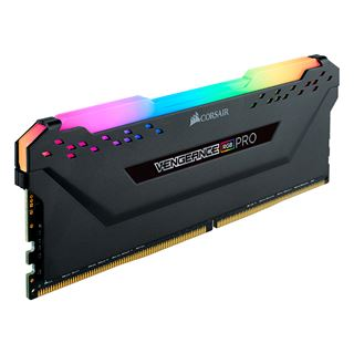 32GB Corsair Vengeance RGB PRO schwarz DDR4-3600 DIMM CL18 Quad Kit