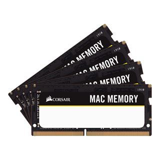 64GB Corsair Mac Memory DDR4-2666 SO-DIMM CL18 Quad Kit