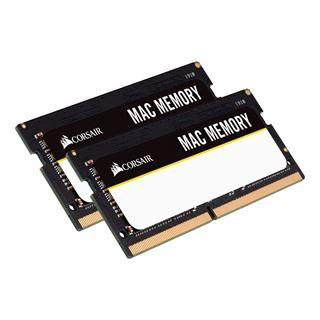 32GB Corsair Mac Memory DDR4-2666 SO-DIMM CL18 Dual Kit