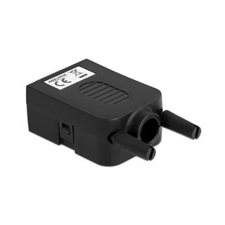 Delock Adapter Sub-D 9 Pin Stecker zu Terminalblock 10 Pin mit