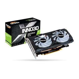 6GB Inno3D GeForce GTX 1660 Ti Twin X2 OC RGB PCI-E, DVI, HDMI , 3xDP