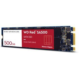 500GB WD SSD M.2 (2280) NAS 24x7 /SATA3 (Di), rot