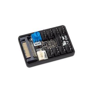 Aqua Computer SPLITTY9 ACTIVE - aktiver Splitter für bis zu 9