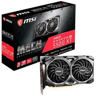 8GB MSI Radeon RX 5500 XT MECH 8G OC DDR6 retail