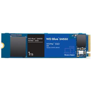 1000GB WD Blue SN550 NVMe M.2 PCIe 3.0 x4 3D-NAND TLC (WDS100T2B0C)