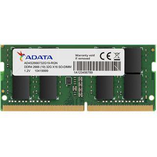 16GB ADATA SO DDR4 PC 2666 CL19 retail