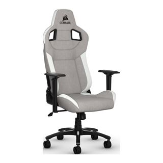 Corsair Gaming Stuhl T3 RUSH grau/weiss