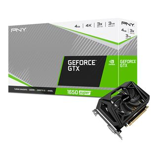 4GB PNY GeForce GTX1650 SUPER 4GB GDDR6 Single Fan