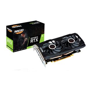 6GB INNO3D GeForce RTX 2060 GAMING OC X2 6GB GDDR6 192-bit 14Gbps