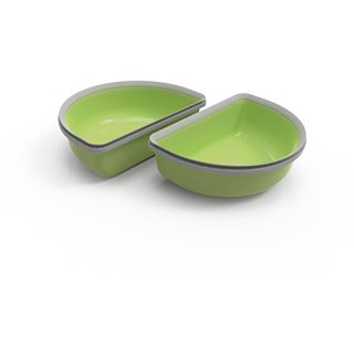 Segula SUREFEED Halbschalen - 2er Set, grün