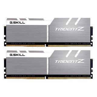 16GB G.Skill Trident Z silber / weiss DDR4-3733 DIMM CL17 Dual Kit