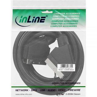 (€1,63*/1m) 3.00m InLine SCART Anschlusskabel Scart Stecker auf