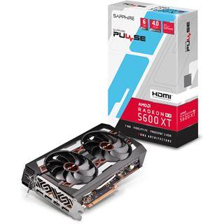 6GB Sapphire Radeon RX 5600 XT Pulse Aktiv PCIe 4.0 x16 (Retail)