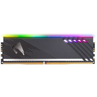 16GB Gigabyte Aorus RGB Memory 2x8GB 3600MHz
