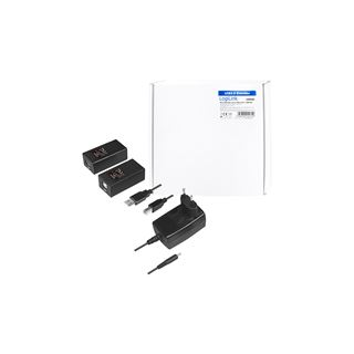 LogiLink USB 2.0 Cat.5 Extender bis zu 150m 1-port, POE