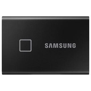 1000GB Samsung Portable SSD T7 Touch extern USB 3.2 Gen.2 metallic,
