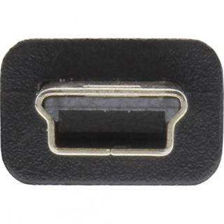 Inline Mini USB-Kabel, USB Stecker A an Mini Stecker für Sony,