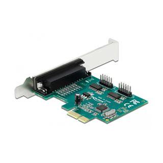 Delock PCI Express Karte zu 4 x Seriell RS-232 mit Spannungsversorgung