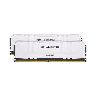 32GB Crucial Ballistix weiß DDR4-3000 DIMM CL15 Dual Kit