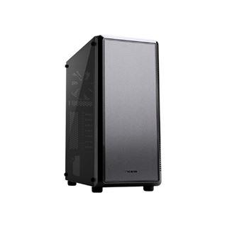 Zalman S4 Midi Tower mit Sichtfenster ohne Netzteil schwarz