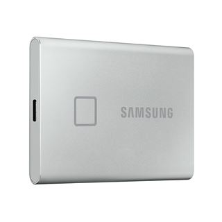 500GB Samsung Portable SSD T7 Touch USB3.2 silver