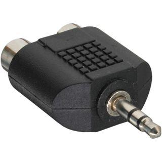 InLine Audio Adapter 3.5mm Klinke Stecker Stereo auf 2xCinch Buchse