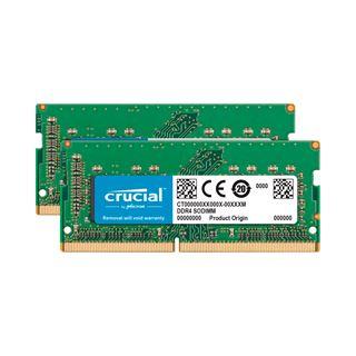 32GB Crucial Memory for Mac DDR4-2666 SO-DIMM CL19 Dual Kit