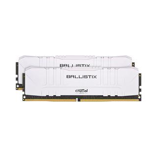 32GB Crucial Ballistix weiß DDR4-3200 DIMM CL16 Dual Kit