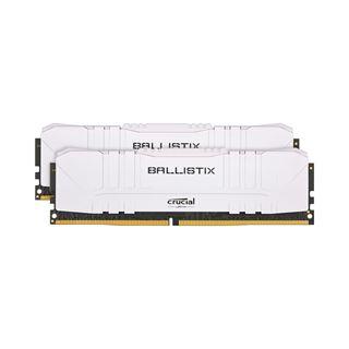 16GB Crucial Ballistix weiß DDR4-2666 DIMM CL16 Dual Kit