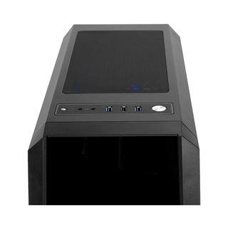Chieftec Gamer GL-03B Scorpion 3 RGB Midi Tower ohne Netzteil schwarz