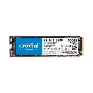 500GB Crucial P2 M.2 PCIe 3.0 x4 3D-NAND TLC (CT500P2SSD8)
