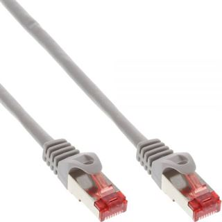 (€1,63*/1m) 3.00m InLine Cat. 6 Patchkabel S/FTP PiMF RJ45