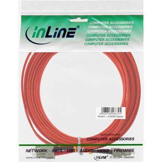 (€1,00*/1m) 20.00m InLine LWL Duplex Patchkabel 50/125 µm
