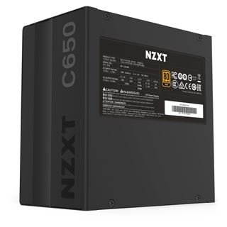 650 Watt NZXT C Series C650 Modular 80+ Gold