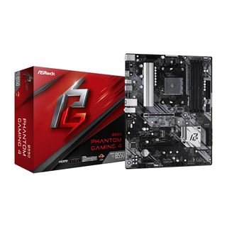 ASRock Phantom Gaming 4 AMD B550 So.AM4 Dual Channel DDR ATX Retail