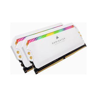 16GB Corsair Dominator Platinum RGB weiß DDR4-4000 DIMM CL19
