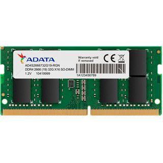 8GB Adata Premier SO-DIMM DDR4-2666 SO-DIMM CL19, Single, bulk